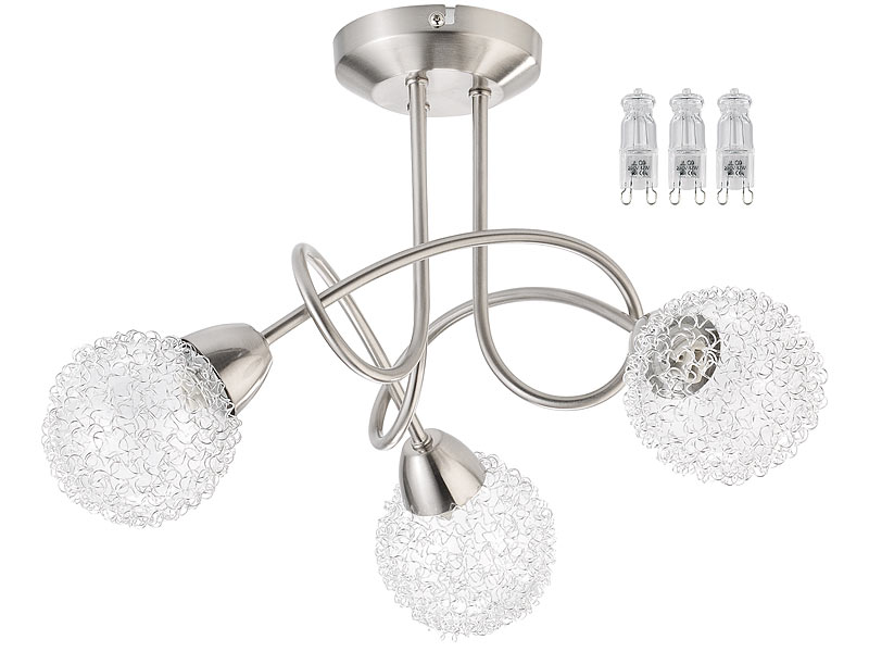 42 Watt 625 Lumen warmweiß Glühbirnen: Halogen-Stiftsockellampe G9 230 Volt
